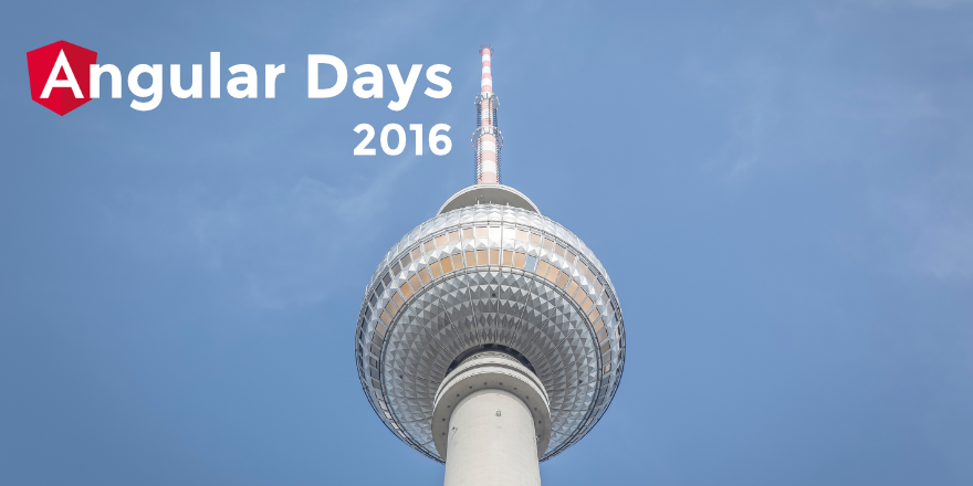 Angular Days 2016 Berlin Header Graphic