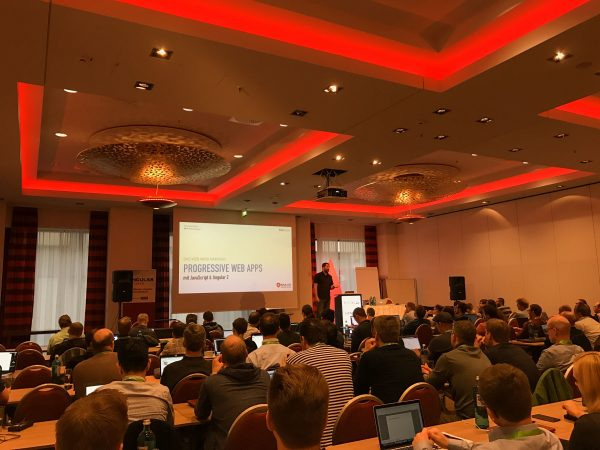 Angular Days 2016 Berlin Avarteq